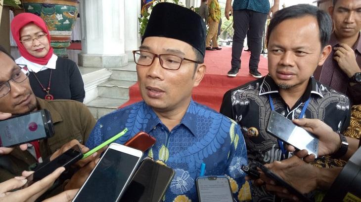 Gubernur Jabar Ridwan Kamil dan Wali Kota Bogor Bima Arya