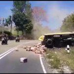 Kecelakaan di Tanjakan Emen Subang