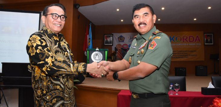 Kodiklat TNI AD terima penghargaan soal kinerja pelaksanaan anggaran (ist)