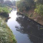 Kondisi aliran Sungai Cilamaya Karawang2
