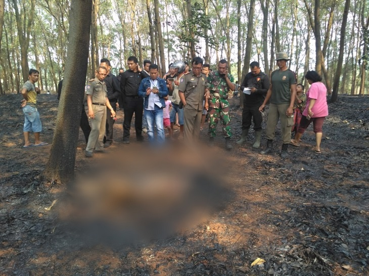 Korban kebakaran di Purwakarta
