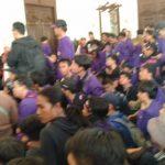 Mahasiswa Unpak merangsek masuk ke ruangan Walikota Bogor (adi)