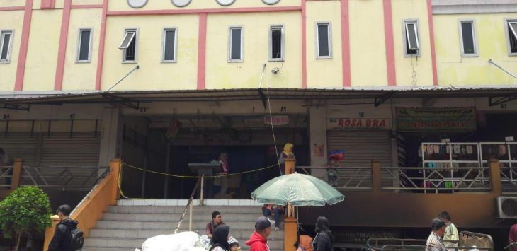 Pedagang Pasar Baru Bekasi Direlokasi Sementara Waktu