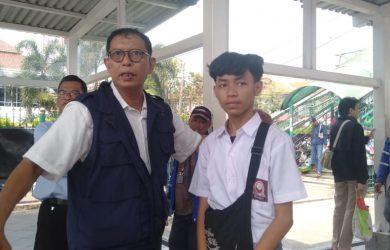 Stasiun Bogor agar tidak demo ke Jakarta (adi)