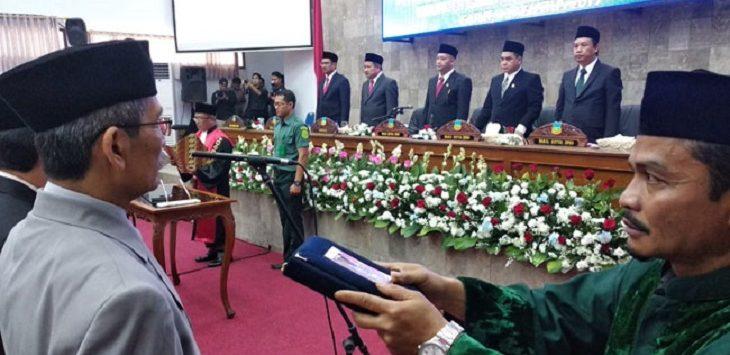 Pelantikan DPRD Kabupaten Garut./Foto: Rmol