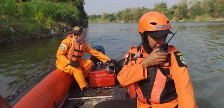 Pencarian Roma yang tenggelam di Sungai Cimanuk Majalengka (ist)
