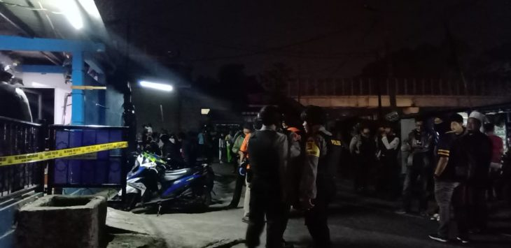 Penggeledahan rumah kos di Cimahi terkait terduga teroris (ist)
