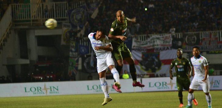Laga Persib VS PS Tira-Persikabo di Stadion Pakansari, Sabtu (14/9/2019)./Foto: Istimewa