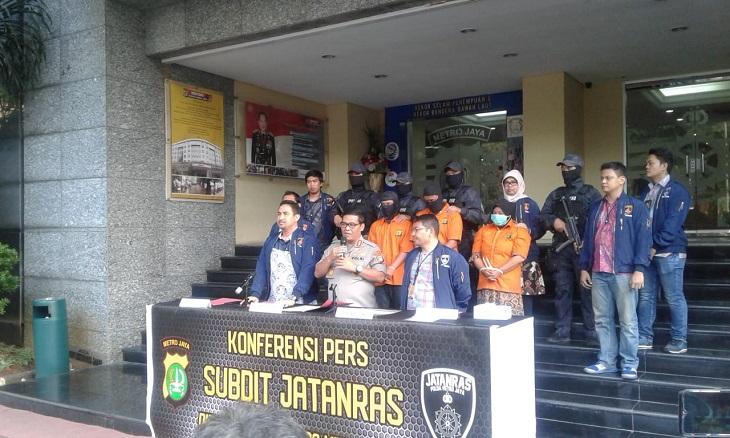 Polda Metro Jaya ungkap kasus pembuhan berujung pembakaran berlokasi di 2 tempat