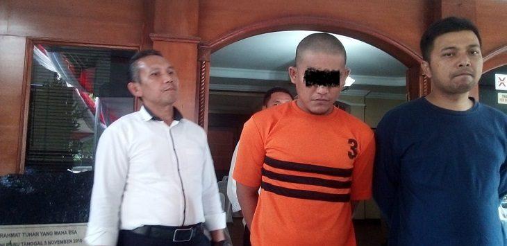 Polsek Sukajadi ungkap kasus pencurian rumah kosong, Senin (10/9/2019)./Foto: Arief