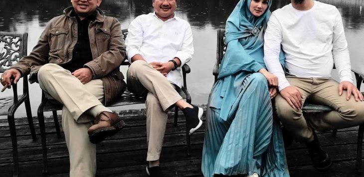 Postingan Ahmad Dhani membela istrinya Mulan Jameela (ist)