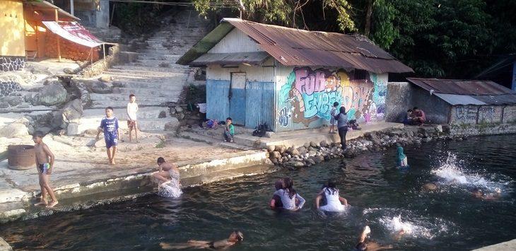 Suasana di lokasi Sumber Mata Air Cipicung Subang./Foto: Ega