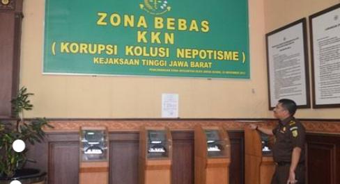 Salah satu ruangan di Kejaksaan Tinggi Jawa Barat. (Foto web kejati jabar).