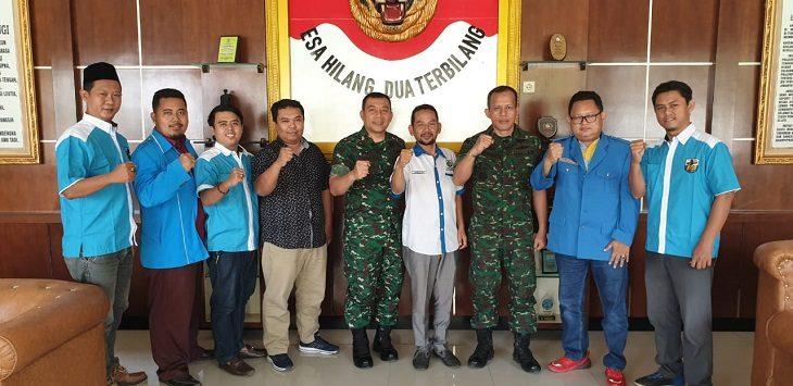 DPD KNPI Karawang bersama Kodim 0604./Foto: Ega