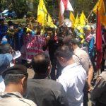 Demo mahasiswa Sukabumi
