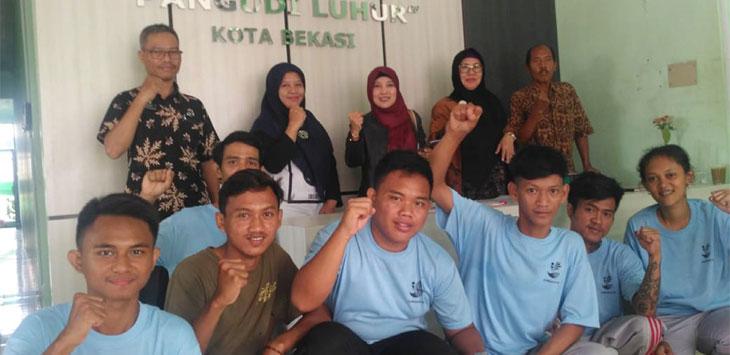 Dinas Sosial Kota Depok melakukan kunjungan ke Balai Rehabilitasi Sosial eks Gelandangan dan Pengemis Pangudi Luhur Bekasi, beberapa waktu lalu. Radar Depok