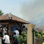 Ditinggal Nonton TV, Gas Meledak di Dapur