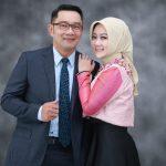Foto Ridwan Kamil bersama istrinya Atalia (ist)