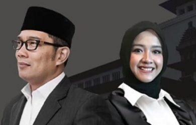 Gubernur Jabar Ridwan Kamil dan ajudan milenialnya