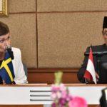 Gubernur Ridwan Kamil dan Dubes Swedia (ist)