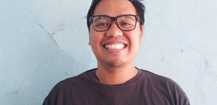 Haryanto, wartawan media online yang menjadi korban kecelakaan di Jalan Surya Sumantri, Bandung, sekitar pukul 11.30 WIB, Selasa (1/10)./Foto: Istimewa