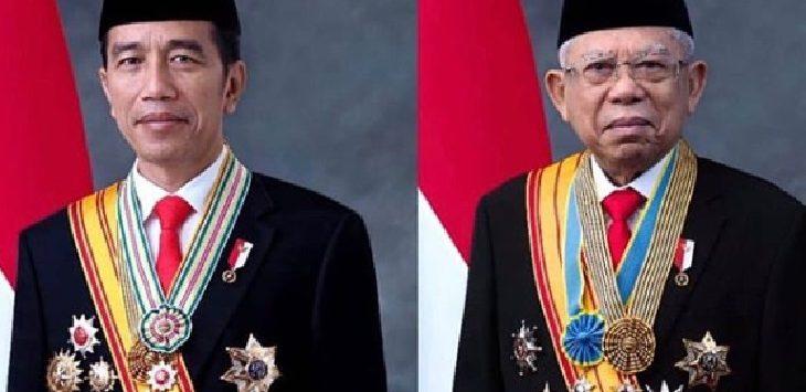 Presiden dan Wakil Presiden Indonedia 2019-2024 Joko Widodo -Ma'ruf Amin./Foto: Istimewa
