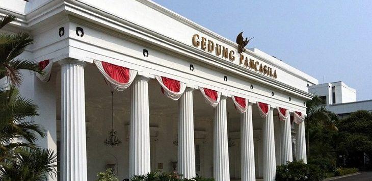 Gedung Pancasila atau KBRI Baghdad./Foto: Istimewwa