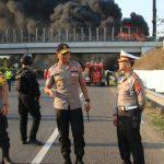 Kapolda Jabar di lokasi pipa Pertamina meledak di Cimahi (ist)