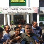 Kasi Intel Kejaksaan Negeri Kabupaten Cirebon Aditya Rakatama. Dede