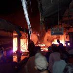 Kebakaran Pasar Rawakalong