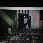 Kondisi rumah pemulung di Gunungputri yang ludes terbakar (ist)