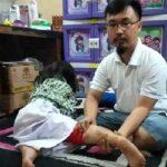 Korban gigitan kera liar di Bogor