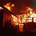 Kubung Budidaya Jamur di Cisarua terbakar