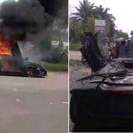 Lamborghini diduga milik Raffi Ahmad (ist)