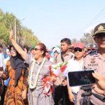 Mantan Menteri Kelautan dan Perikanan Susi Pudjiastuti pulang ke Pangandaran (ist)