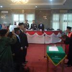 Pelantikan Pimpinan DPRD Kota Sukabumi