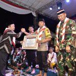 Kapolres Cirebon AKBP Suhermanto mendapat pengragaan dari Lemkapi. Dede