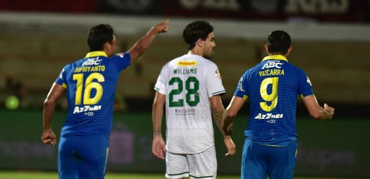 Persib Bandung menang 4-1 atas Persebaya Surabaya di Stadion Kapten I Wayan Dipta, Jumat (18/10/2019) malam. ft/persib.co.id