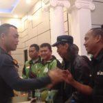 Pertemuan driver ojol dengan Kapolres Bogor Kota soal polisi yang menendang driver ojol (adi)