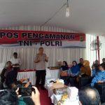 Polisi yang mempengaruhi dan mengumpulkan guru BK se Bandung (ist)