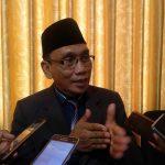 Rektor IAIN Syekh Nurjati Cirebon, Dr H Sumanta M.Ag, saat memberikan keterangan. alwi