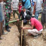 Retakan Tanah Melebar di Cikajang Kabupaten Garut
