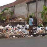 Sampah di sudut Kota Tasikmalaya