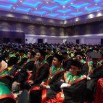 Wisudawan IAIN Syekh Nurjati Cirebon. (Alwi)
