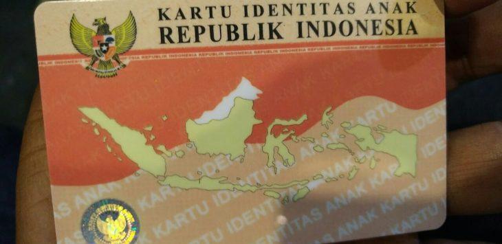 Kartu Identitas Anak (KIA) yang akan diluncurkan pemerintah daerah purwakarta, untuk menuju kota ramah anak.