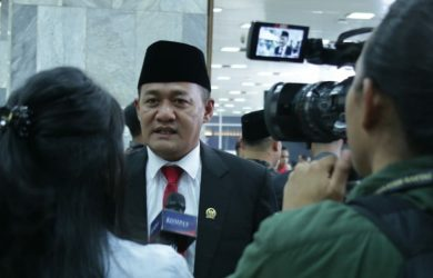 Aktivis buruh Obon Tabroni jadi anggota DPR RI periode 2029-2024. Foto : Istimewa