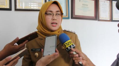 Bupati Purwakarta, Anne Ratna Mustika saat di wawancara media beberapa waktu lalu. (foto dok)