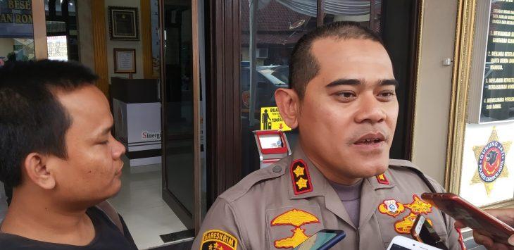 Kapolres Cirebon Kota AKBP Roland Ronaldy. Dede