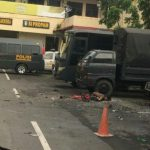 Bom bunuh diri meledak di Polrestabes Medan (ist)