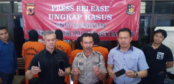 Press Realese Kasus Curanmor di Kota Bandung